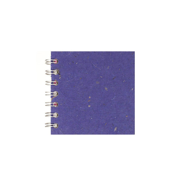 4x4 Zen Book, Sapphire Sketchbook by Pink Pig International