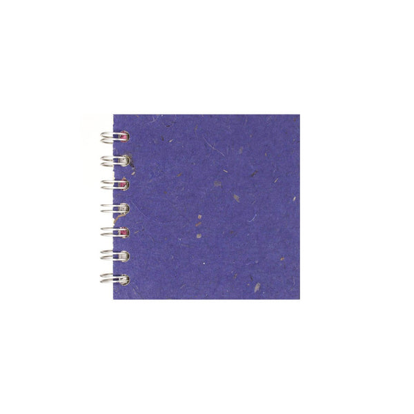 4x4 Square, Sapphire Sketchbook by Pink Pig International