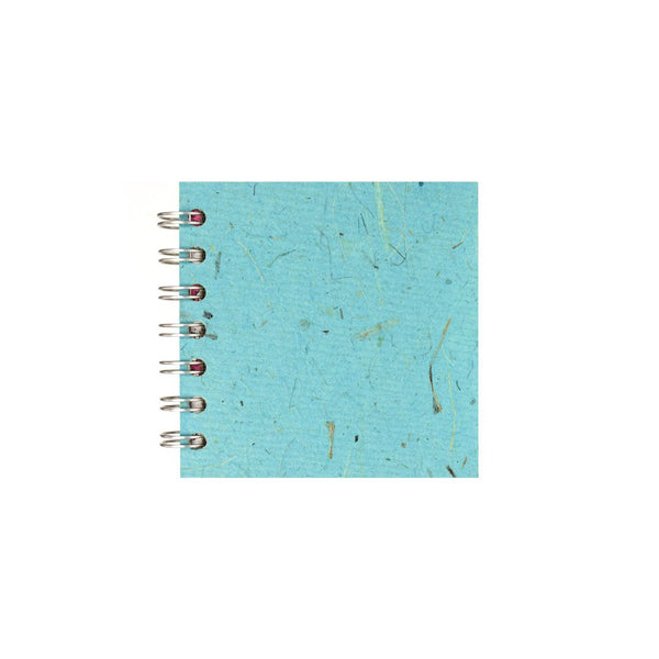 4x4 Square, Sky Blue Sketchbook by Pink Pig International
