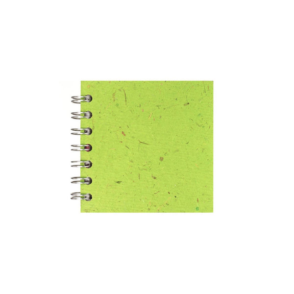 4x4 Square, Emerald Sketchbook by Pink Pig International