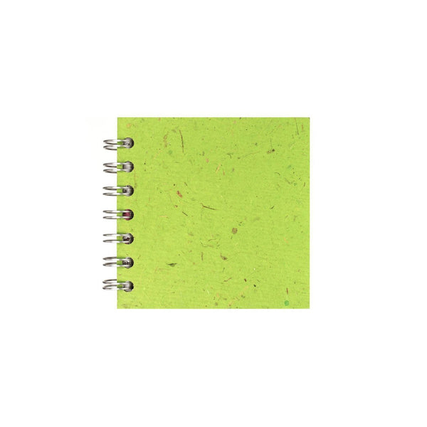 4x4 Zen Book, Emerald Sketchbook by Pink Pig International