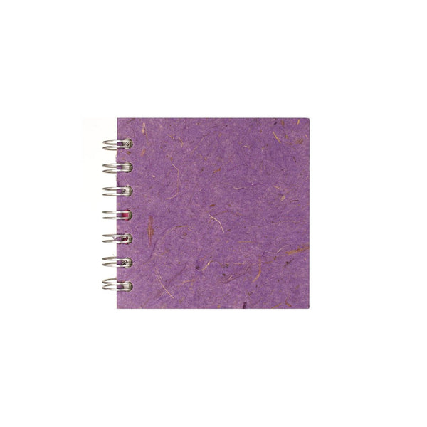 4x4 Square, Amethyst Sketchbook by Pink Pig International