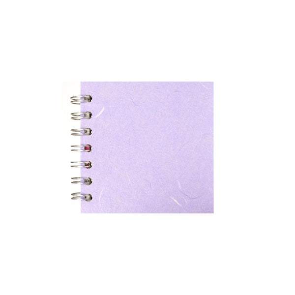 4x4 Square, Lilac Sketchbook by Pink Pig International