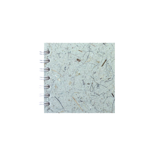 4x4 Square, Sea Grey Sketchbook by Pink Pig International