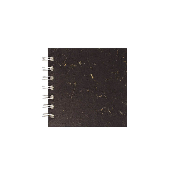 4x4 Square, Ebony Sketchbook by Pink Pig International
