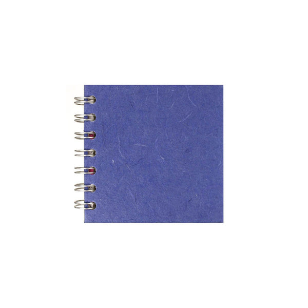4x4 Square, Mid Blue Sketchbook by Pink Pig International