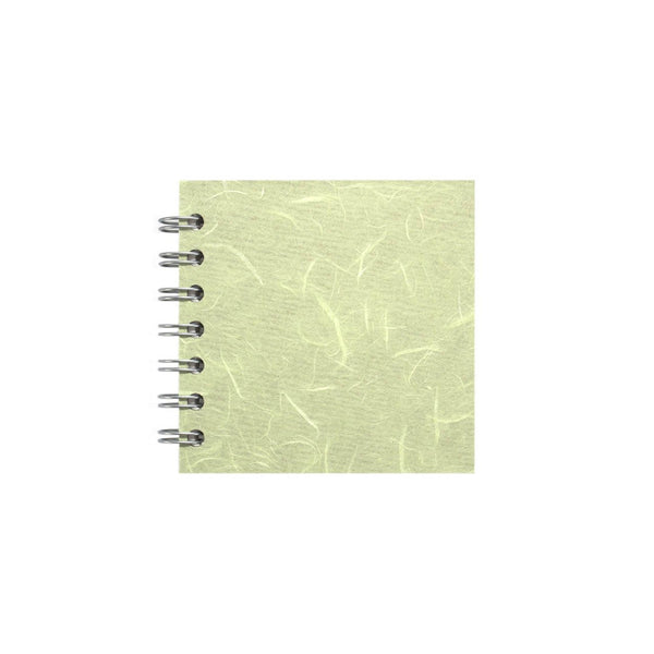 4x4 Square, Mint Sketchbook by Pink Pig International