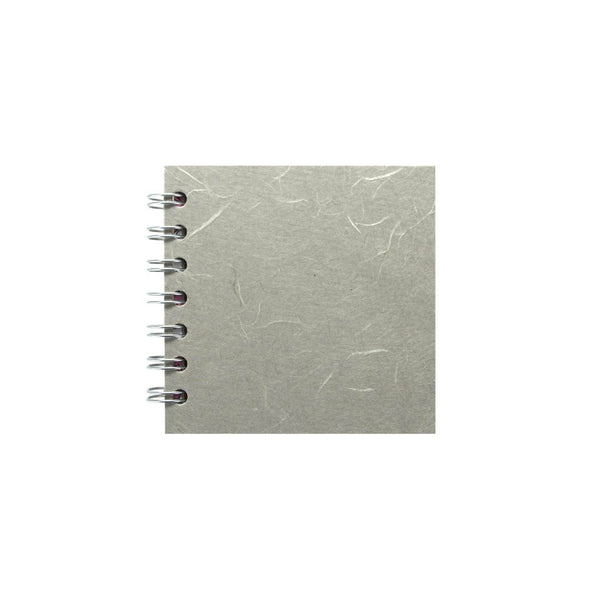 4x4 Zen Book, Pale Grey Sketchbook by Pink Pig International