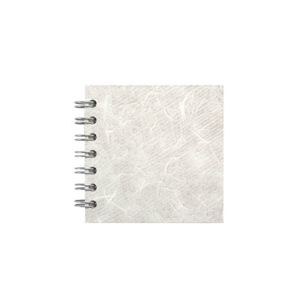 4x4 Square, White Sketchbook by Pink Pig International