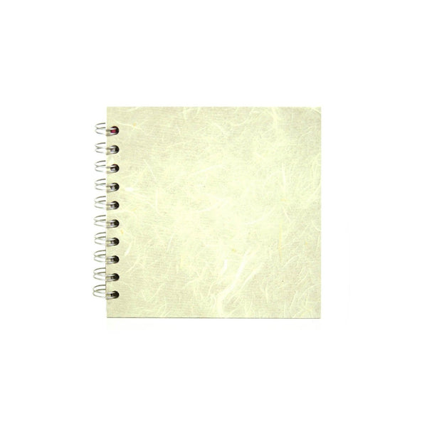 6x6 Square, Ivory Sketchbook by Pink Pig International