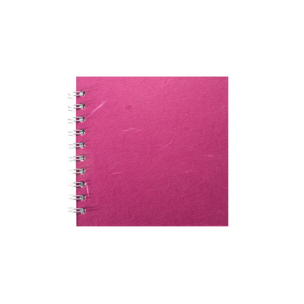 6x6 Square, Bright Pink Sketchbook by Pink Pig International