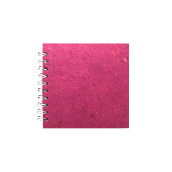 6x6 Square, Berry Sketchbook by Pink Pig International