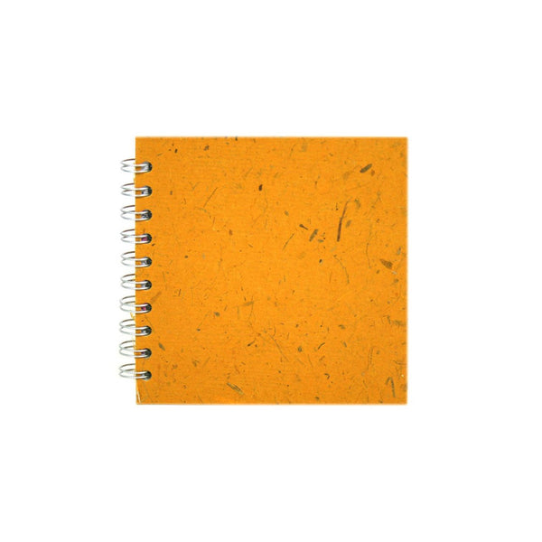 6x6 Square, Amber Sketchbook by Pink Pig International