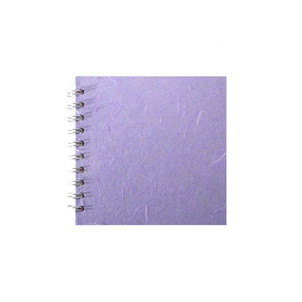 6x6 Square, Lilac Sketchbook by Pink Pig International