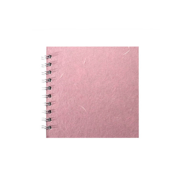 6x6 Square, Pale Pink Sketchbook by Pink Pig International