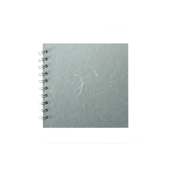 6x6 Square, Pale Blue Sketchbook by Pink Pig International