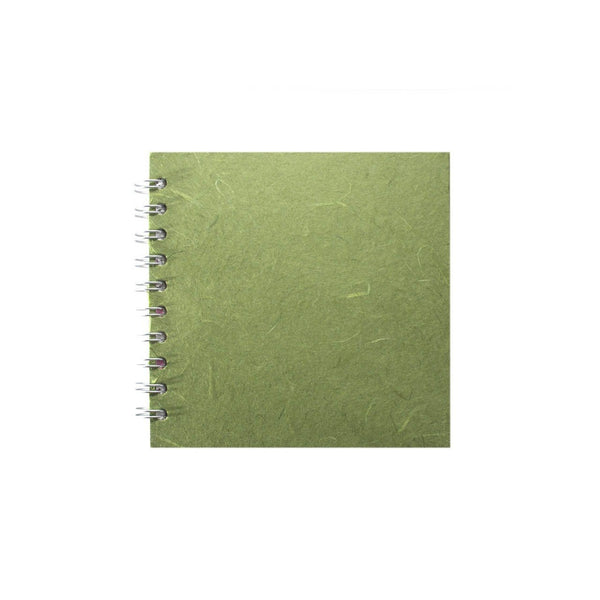 6x6 Square, Moss Sketchbook by Pink Pig International