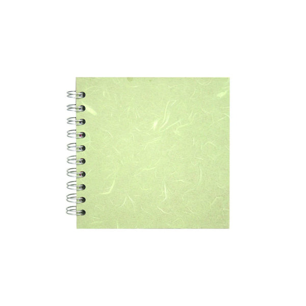 6x6 Square, Mint Sketchbook by Pink Pig International