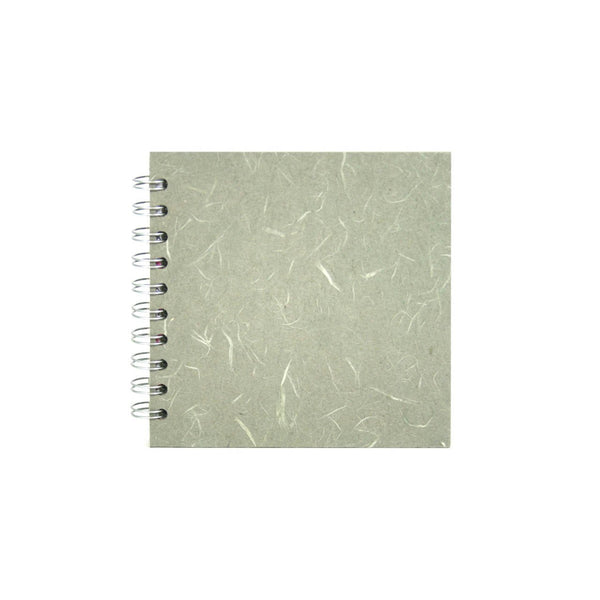 6x6 Square, Pale Grey Sketchbook by Pink Pig International