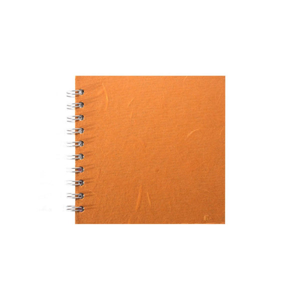 6x6 Square, Orange Sketchbook by Pink Pig International