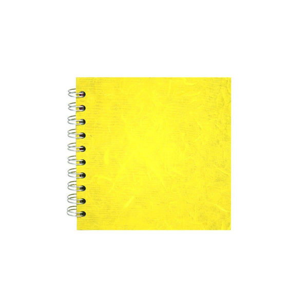 6x6 Square, Yellow Sketchbook by Pink Pig International