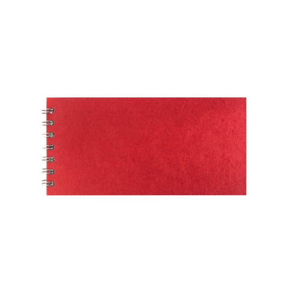 8x4 Landscape, Red Sketchbook by Pink Pig International