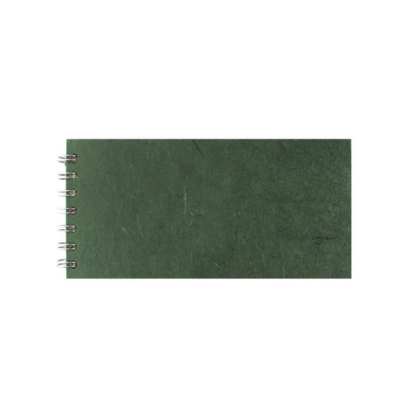 8x4 Landscape, Dark Green Sketchbook by Pink Pig International