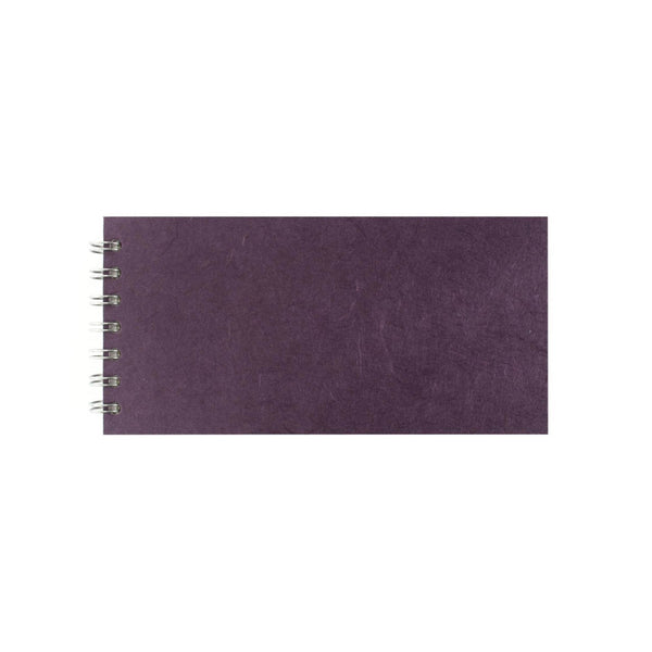 8x4 Landscape, Aubergine Sketchbook by Pink Pig International
