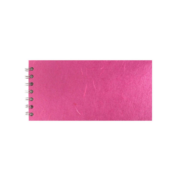 8x4 Landscape, Bright Pink Sketchbook by Pink Pig International