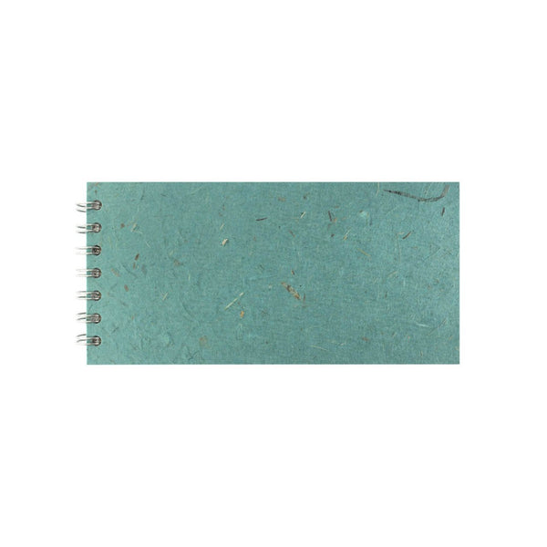 8x4 Landscape, Turquoise Sketchbook by Pink Pig International