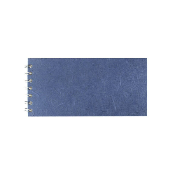 8x4 Landscape, Mid Blue Sketchbook by Pink Pig International