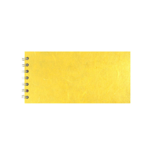 8x4 Landscape, Yellow Sketchbook by Pink Pig International
