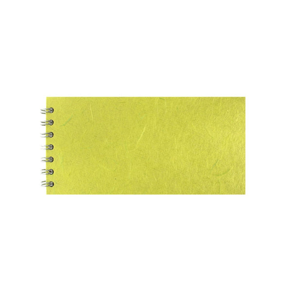 8x4 Landscape, Lime Green Sketchbook by Pink Pig International