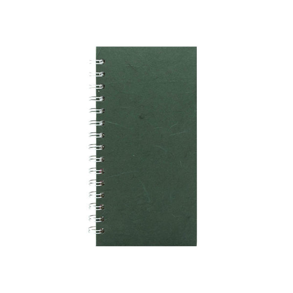 8x4 Portrait, Dark Green Sketchbook by Pink Pig International