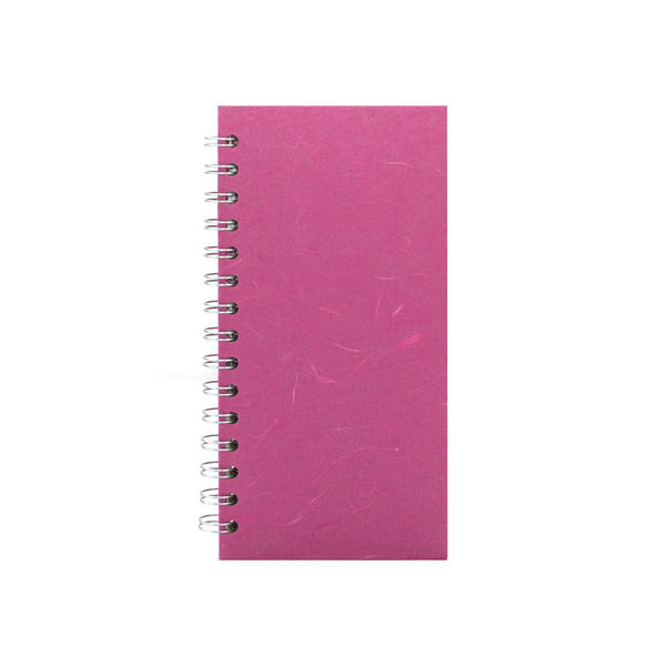 8x4 Portrait, Bright Pink Sketchbook by Pink Pig International