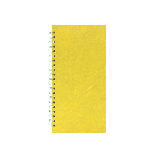 8x4 Portrait, Yellow Sketchbook by Pink Pig International