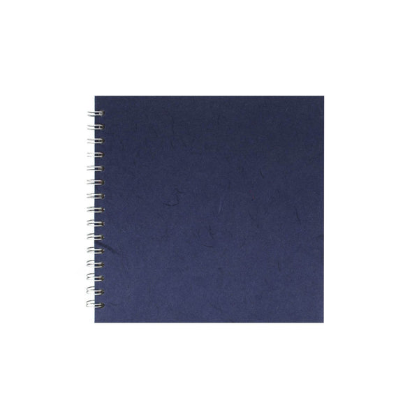 8x8 Square, Royal Blue Watercolour Book by Pink Pig International