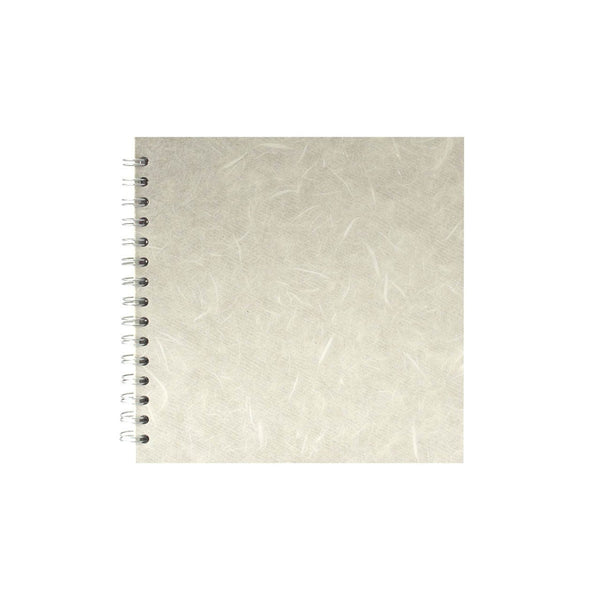8x8 Square, Ivory Sketchbook by Pink Pig International