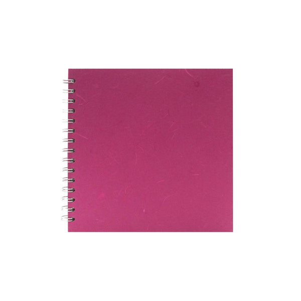 8x8 Square, Bright Pink Watercolour Book by Pink Pig International