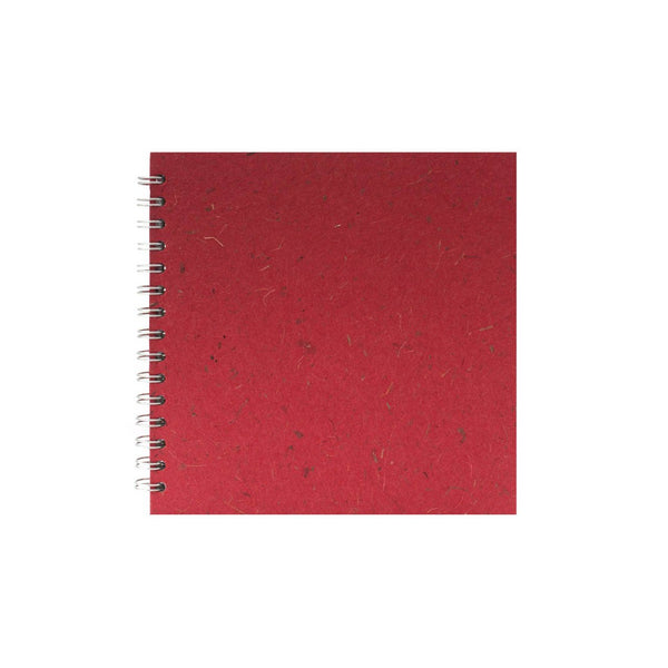 8x8 Square, Ruby Watercolour Book by Pink Pig International