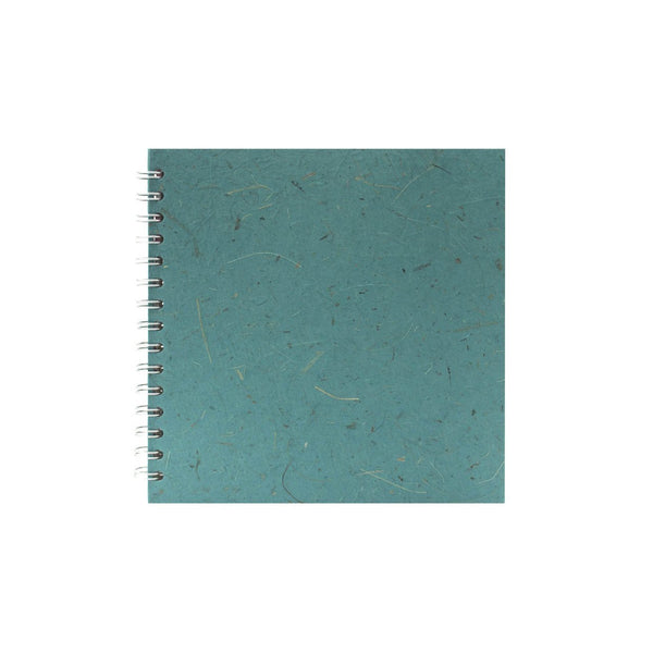 8x8 Square, Turquoise Sketchbook by Pink Pig International