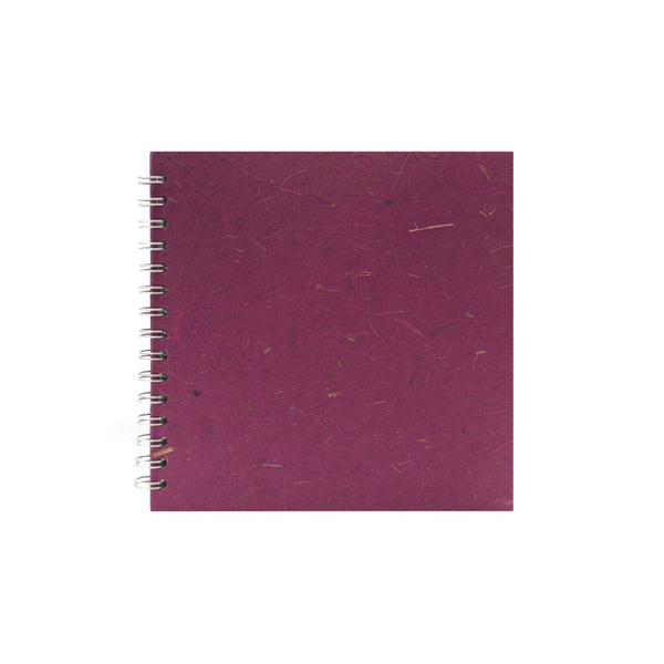8x8 Square, Berry Sketchbook by Pink Pig International