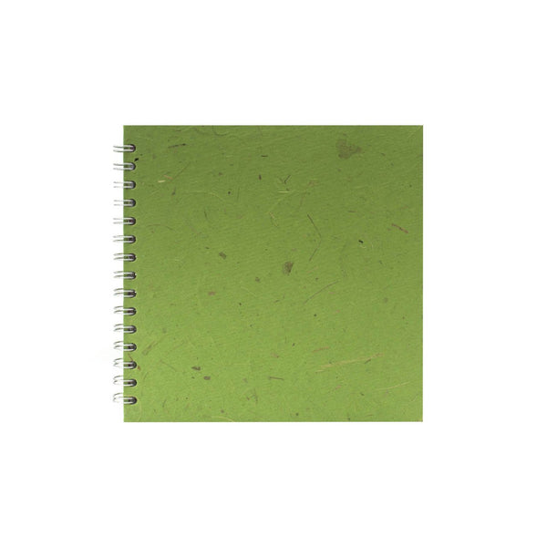 8x8 Square, Emerald Watercolour Book by Pink Pig International