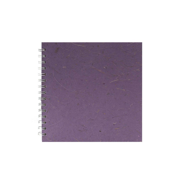8x8 Square, Amethyst Watercolour Book by Pink Pig International