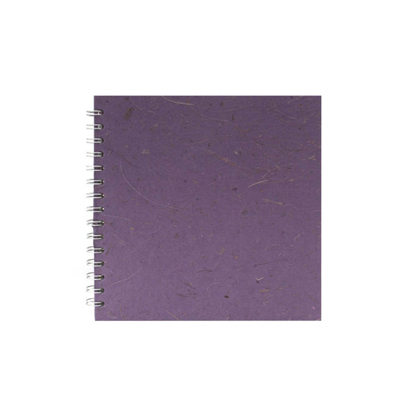 8x8 Square, Amethyst Sketchbook by Pink Pig International