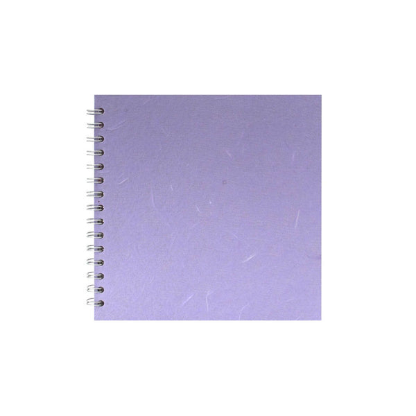 8x8 Square, Lilac Sketchbook by Pink Pig International