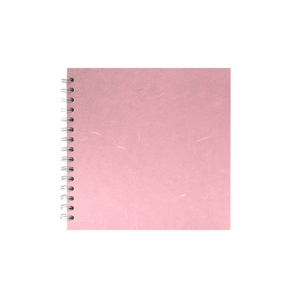 8x8 Square, Pale Pink Sketchbook by Pink Pig International