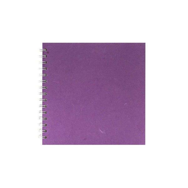 8x8 Square, Purple Sketchbook by Pink Pig International