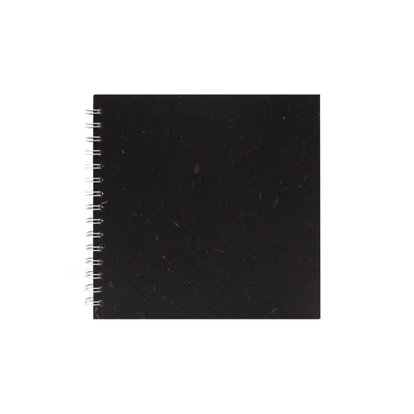 8x8 Square, Ebony Sketchbook by Pink Pig International