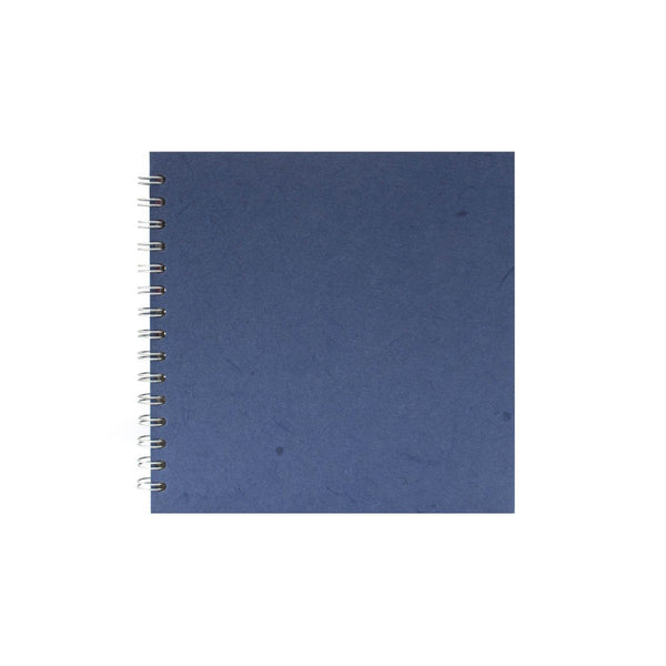 8x8 Square, Mid Blue Sketchbook by Pink Pig International